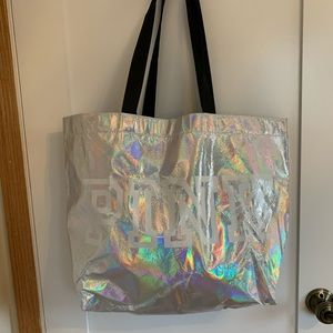 PINK Holographic Bag